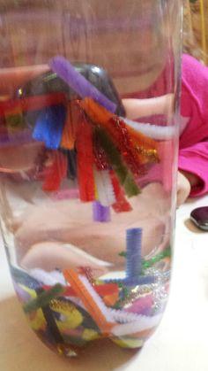Munchkin and Bean: Sensory Bottles