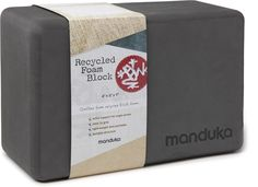 The Manduka Recycled-Foam yoga block will help you get the most out of your yoga routine.