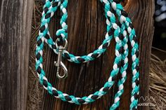 8 strand braided paracord dog leash
