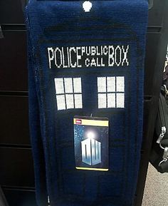 Doctor Who scarf, anyone?