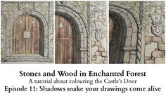 Stones and Wood in Enchanted Forest - Episode 11 - Shadows make your dra...