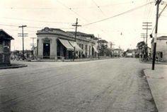 1930 - Rua Domingos de Moraes esquina com rua Vergueiro, na Vila Mariana.
