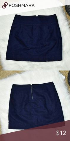 Beautiful Navy J. Crew Skirt In excellent condition. Size 0. J. Crew Skirts Mini