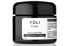 Yuli Pure Treatment Mask, $65, available at Yuli.  http://www.refinery29.com/best-skin-clay-mud-products#slide-17