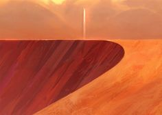 A powerful science fiction story about an architect on Earth commissioned to create (via long distance) a masterwork with materials from the last abandoned Martian colony, a monument that will last… Art by  Victor Mosquera