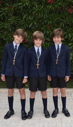 Boys Summer Outfits, Summer Boy, Boy Outfits, Toddler Boy Haircuts, Toddler Boys, Young Cute Boys, Cute Kids, Boys Short Suit, Private School Uniforms