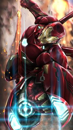 Iron Man Weapon iPhone Wallpaper Marvel Universe - Anime Characters Epic fails and comic Marvel Univerce Characters image ideas tips Marvel Comic Universe, Marvel Art, Marvel Heroes, Marvel Comics, Iron Man Avengers, The Avengers, Iron Man Kunst, Iron Man Art, Iron Man Wallpaper