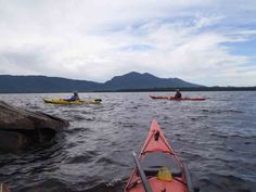 Kayaking in Maine. Lots of lakes in the Kennebec Valley region are perfect for this.
