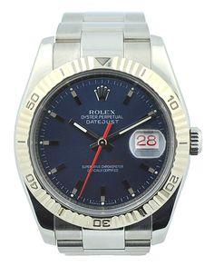 Rolex Datejust Turn-O-Graph 116264 Watch #Rolex #Datejust #Turn-O-Graph