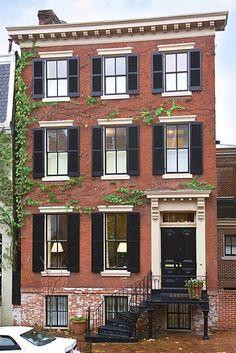 1000 images about architectural style on pinterest for Townhouse architectural styles