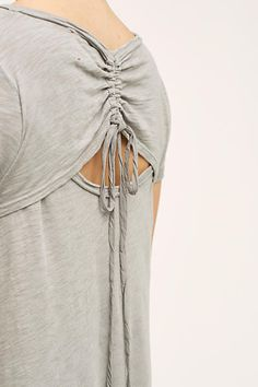 Tie-Back Tunic $29.95 4112200842015