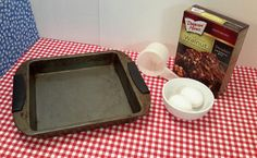 Vintage Square Cake Pan Mid Century Cake Pan by OurVintageNest