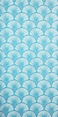 Illustration inspi japonnaise #blue #bleu #wallpaper #illustration #ecaille #paon #dessin