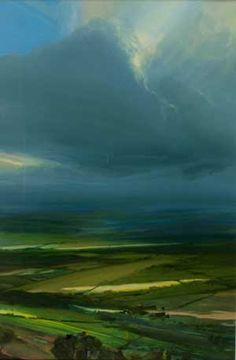 Artist: James Naughton; Painting: Cloud Drifting
