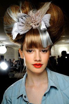 The Rose: Marie Antoinette #highhair #Hair #costs #hairstyles