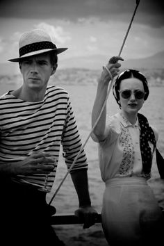 James D'Arcy and Andrea Riseborough in W.E. #fashioninfilm #filmstillstyle