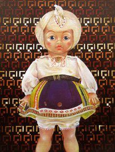 """Untitled"" (2014) oil on canvas (20x27cm) by Tiina Lilja"