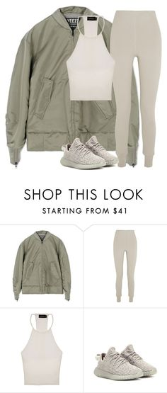 """Untitled #155"" by pariszouzounis ❤ liked on Polyvore featuring adidas, Bottega Veneta, MINKPINK and adidas Originals"