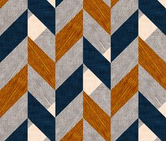 Parquetry (LARGE) fabric by nouveau_bohemian on Spoonflower - custom fabric