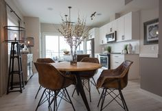 Projects | Rochelle Cote. The kitchen. From the Plum Showhome.