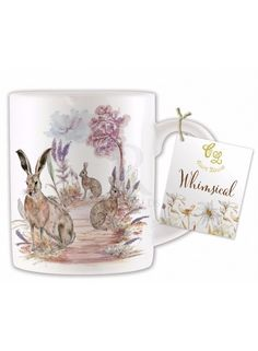 Hare Design China Mug @ rosefields.co.uk