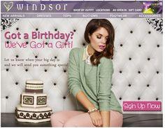 Windsor #BirthdayEmail