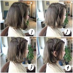 Hair Styles for Women That Enhance Their Beauty – HerHairdos Short Hair Styles For Round Faces, Medium Hair Styles, Curly Hair Styles, Work Hairstyles, Hairstyles For Round Faces, Teenage Hairstyles, Hair Arrange, Braids For Short Hair, Hair Looks