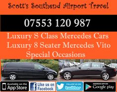 Scott's  Southend Executive Taxi To Colchester