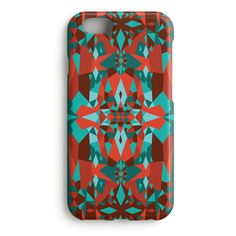 """""""Snowflakes in the Heat"""" design iPhone case from Shell'Oh!- designed by Katariina Karjalainen"""