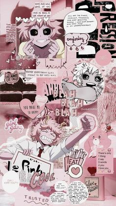 my hero academia wallpaper Free idea Wallpaper Animes, Cute Anime Wallpaper, Hero Wallpaper, Animes Wallpapers, Cartoon Wallpaper, Cute Wallpapers, Pink Wallpaper, Aesthetic Pastel Wallpaper, Aesthetic Wallpapers