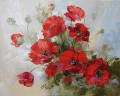 Red poppy flowers art picture paint on canvas diy digital oil painting by numbers home decoration craft gift Poppy Drawing, Art Timeline, Russian Art, Pictures To Paint, Painting Inspiration, Flower Art, Watercolor Paintings, Decoupage, Canvas Art