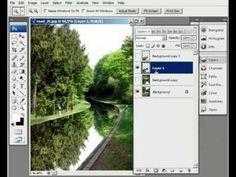 Hogyan készítsünk tükröződő felületet Photoshopban?
