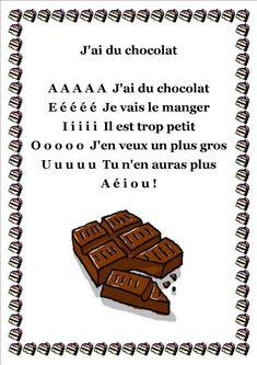 j ai du chocolat                                                                                                                                                                                 Plus