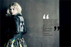 May 2013, Christa Theret. Photos by Paolo Roversi - click on the photo to see the complete story and backstage video