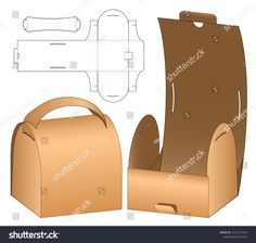 Find Box Packaging Die Cut Template Design stock images in HD and millions of other royalty-free stock photos, illustrations and vectors in the Shutterstock collection. Diy Gift Box, Diy Box, Diy Gifts, Gift Boxes, Gift Packaging, Packaging Design, Fruit Packaging, Vintage Packaging, Paper Box Template