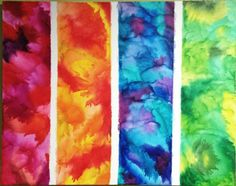 Crayons (galaxy painting diy melted crayons) Wax Crayon Art, Crayon Canvas, Crayon Crafts, Abstract Canvas Art, Wax Art, Galaxy Painting Diy, Diy Painting, Art Crayola, Art Diy