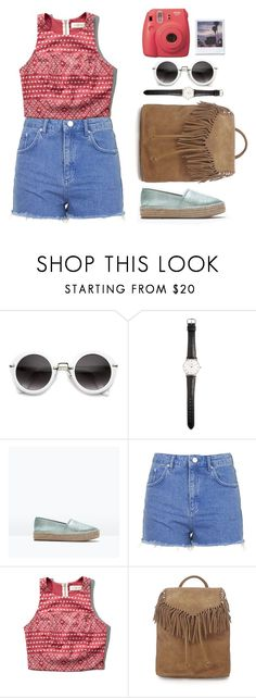 """""""How to wear espadrilles #1"""" by lola-lapin ❤ liked on Polyvore featuring Ole Mathiesen, Zara, Topshop, Abercrombie & Fitch, Fujifilm and vintage"""