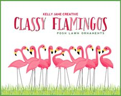 Pink Flamingo Lawn Ornament Clipart   Stationery and Product Graphics   Fundraiser Flamingo Illustrations   Vector Graphics by KellyJSorenson on Etsy https://www.etsy.com/listing/183835976/pink-flamingo-lawn-ornament-clipart
