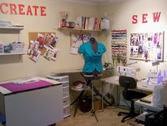 sewing ideas | Sewing Room Design Ideas | Home Interior Design