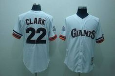 a2810dd9a SF Giants · Mitchell and Ness Giants  22 Will Clark Embroidered White Throwback  MLB Jersey! Only  21.50