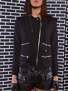 The Kooples biker jacket worn by the Flamboyante