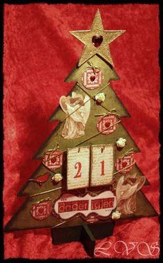 papirdesign-blogg: Linn Advent Calendar, Christmas Ornaments, Holiday Decor, Home Decor, Decoration Home, Room Decor, Advent Calenders, Christmas Jewelry, Christmas Decorations