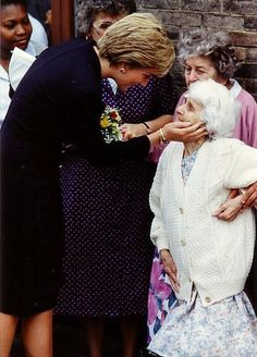 Diana and Charities