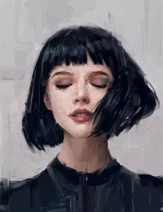 Dijital Sanat: Etkileyici Dijital Portre Ve Tablolar Painting Inspiration, Art Inspo, Decor Inspiration, Journal Inspiration, Hair Inspiration, L'art Du Portrait, Portrait Ideas, Acrylic Portrait Painting, Artistic Portrait