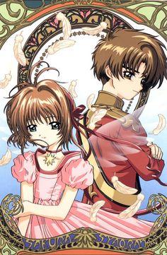 Casal mais fofo *-* Sakura Card Captors