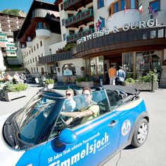 Sommerurlaub im Hotel Edelweiss & Gurgl Hotel Edelweiss, Spaces, Car, Summer Vacations, The Fifties, Automobile, Vehicles, Cars, Autos