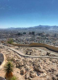 El Paso from Scenic Drive