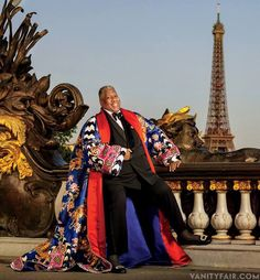 Andre Leon Talley for vanity fair