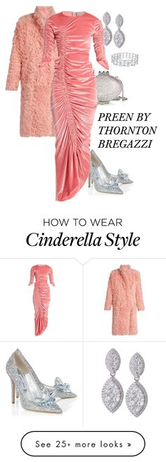 """PREEN BY THORNTON BREGAZZI"" by deborah-calton on Polyvore featuring Jimmy Choo, Preen and Christian Louboutin"