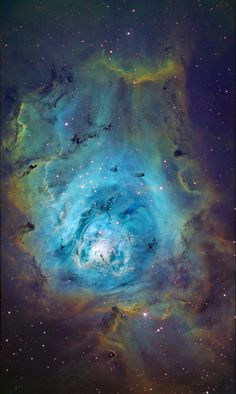 Lagoon Nebula.  We're made of exactly the same stuff.